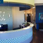 Veterinary Hospital Reception Area
